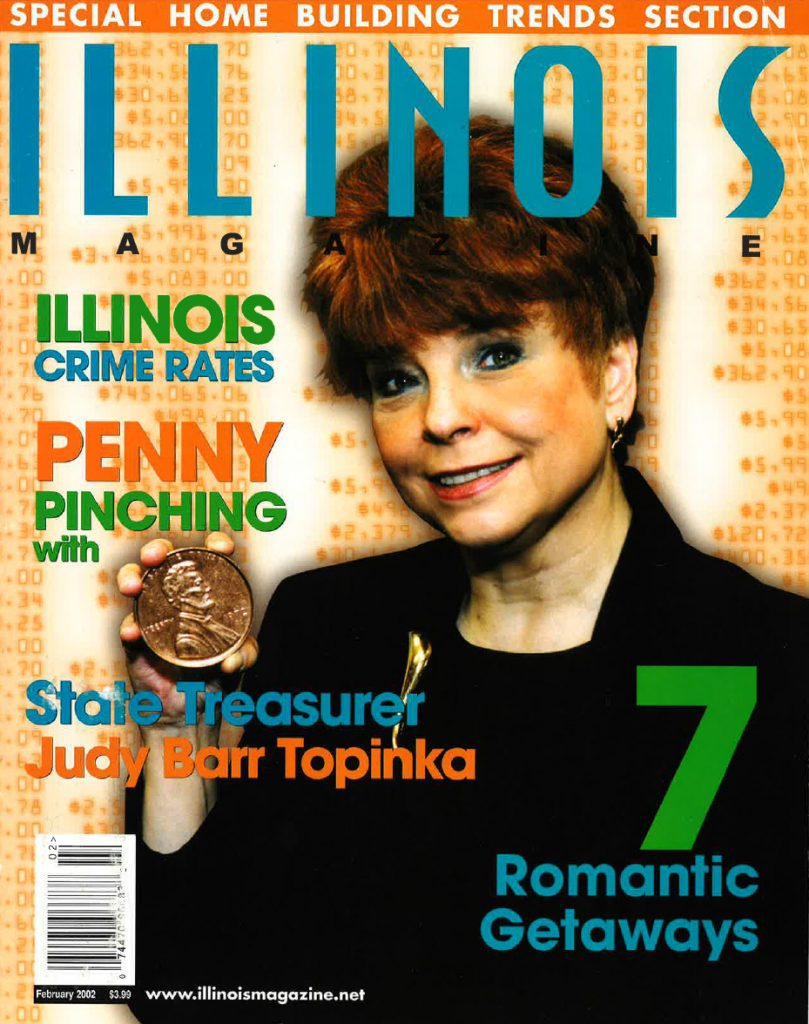 Illinois Magazine Judy Baar Topinka February 2002