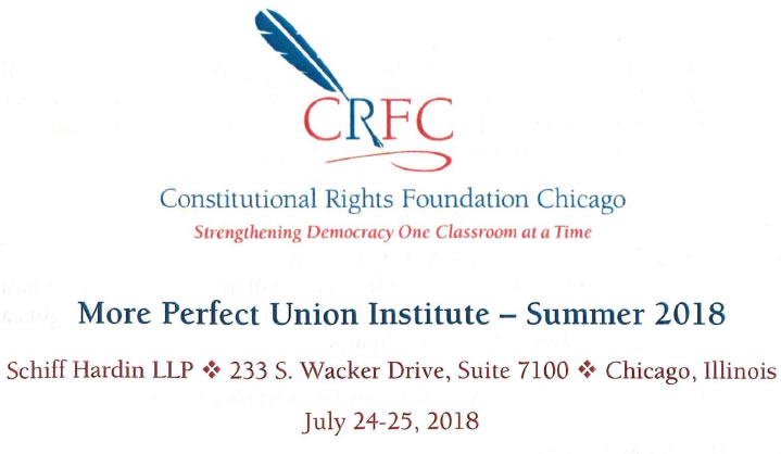 Constitutional Rights Foundation Chicago 2018