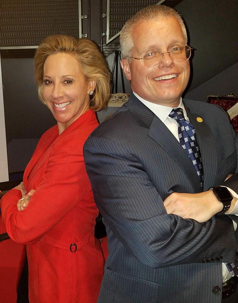 Karen Conti and Joe Topinka