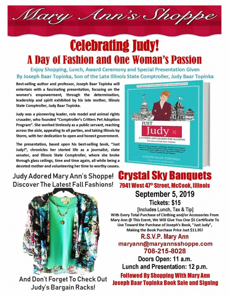 Celebrating Judy Event
