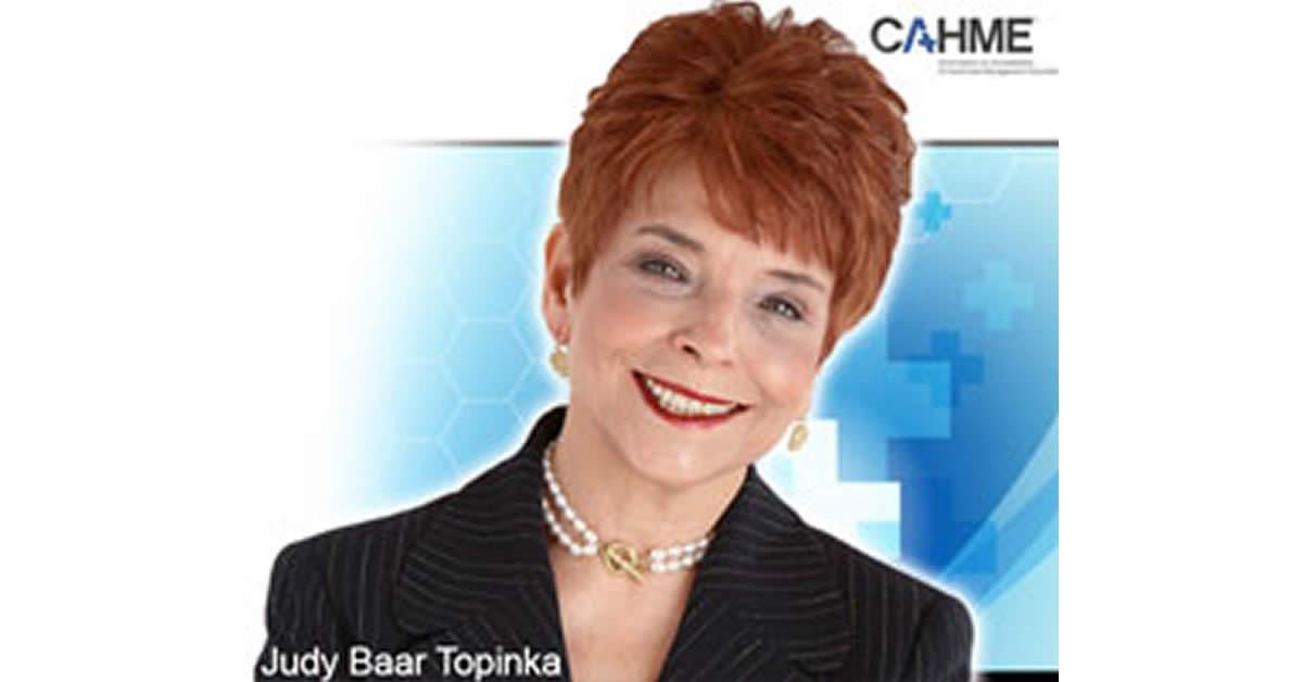 Judy Baar Topinka CAHME