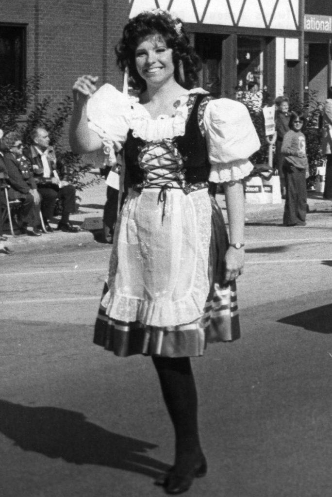 Judy Baar Topinka in Czech Outfit