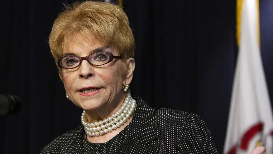 late Illinois Comptroller Judy Baar Topinka